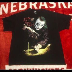 The Dark Knight Vintage Joker Tee